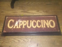 Cappuccino. Wall decor goid condition Bellevue, 68147