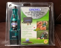 Dremel Golf Cleaning Kit 760-01 New/Sealed-Golf Club Cleaner.