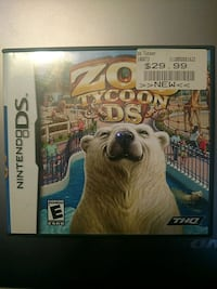 Nintendo DS Zoo Tycoon DS - Used: Like New Piscataway Township, 08854