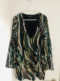 Marciano One of. A Kind 70's inspired Dress
