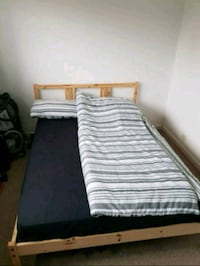 Double mattress and frame  Barnet, EN5 5PB