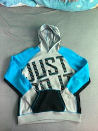 Blue and white Therma Fit Nike pull over hoodie Silver Spring, 20901