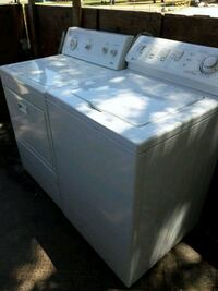 white Maytag clothes washer and dryer set Los Angeles, 91406