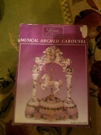 brand new musical arched carousel  690 mi