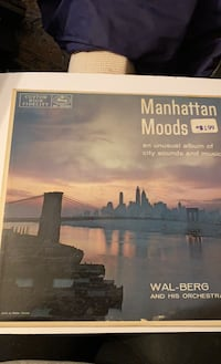 Manhattan moods and unusual album of city sounds and music