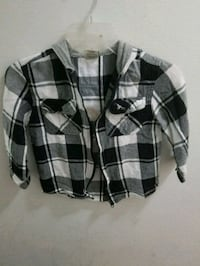 black and white plaid button-up jacket New Orleans, 70127