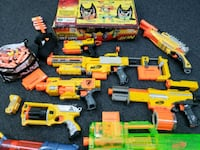 Nerf Guns assorted with accessories  Hillside, 07205