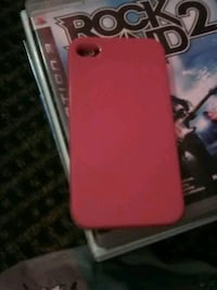 red iPhone 7 plus with case Saint Thomas, N5P 2X4