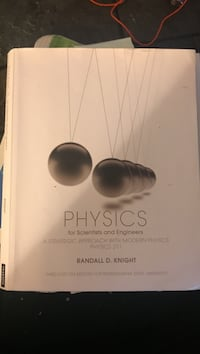 Physics book for sale...originally purchased for over $100