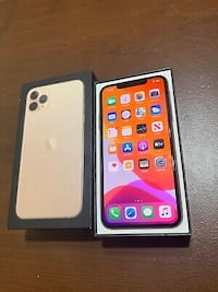 IPhone 11pro max Gold.