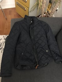 H&M WOMEN'S NAVY BLUE BOMBER JACKET/COAT - SIZE 2 Toronto, M1H 3K2