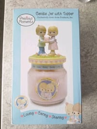 Precious Moments Candle with Topper Easton