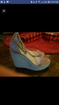 brand new in box brand name straw wedge sandlot si Whitby, L1M 1J2