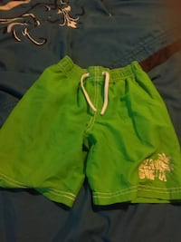 green board shorts