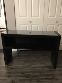 rectangular brown wooden side table Vancouver, V5K 1Z2