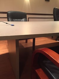 Conference table 12x3 with chairs Rockville, 20850