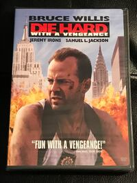 Die Hard with a Vengeance Widescreen Edition (Still factory sealed). Sterling, 20164