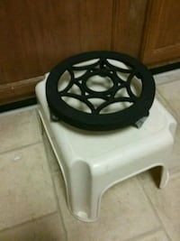 Rolling plant stand sitter