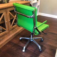 Zuo Lider Plus Lime Green Chair CHARLOTTE