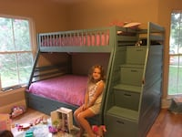 Twin over full bunk beds, new in box.  Adorable! New Orleans, 70124
