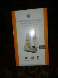 At&t handset cordless answering system box Bakersfield, 93308