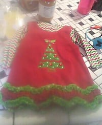 6/9 months Christmas Dress Midway, 37809