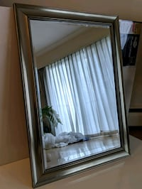Beautiful Large Silver Framed Mirror. Vancouver, V6J 1C5