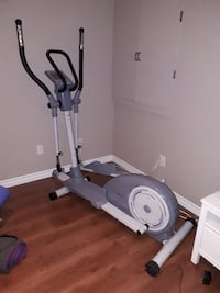 gray and black elliptical trainer LONGUEUIL
