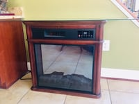 Electric fireplace/ glass table  Fredericksburg, 22407