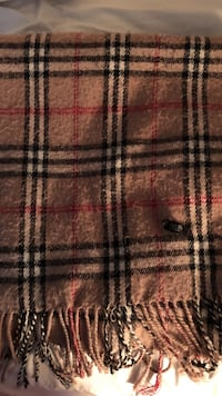 brown and black plaid textile