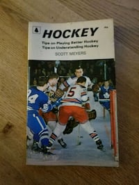 Book about hockey