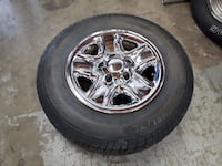 Toyota Tundra LT275/65R18 Michelin Tires with Rims  Mission