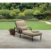Better Homes and Gardens Englewood Heights II Aluminum Outdoor Chaise Lounge| SKU# 48019- Santa Fe Springs
