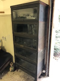 Metal and glass barrister storage Annapolis