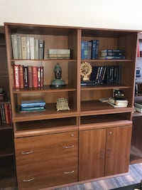 Drawer cabinet and two bookshelves 3 pieces  Gainesville, 20155