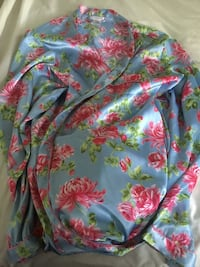 blue, pink, and green floral textile Stockton, 95205