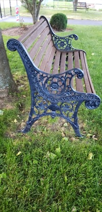 Cast Iron Benches (2)