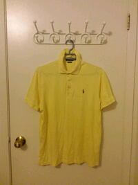 Ralph Lauren Polo: Cotton Yarn Shirt, Yellow (S) Waterloo, N2K 3S1