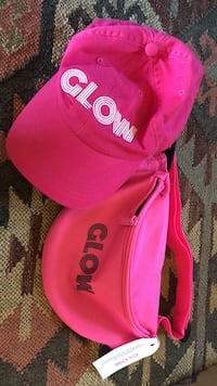 GLOW Netflix swag fanny pack and hat Sisters, 97703