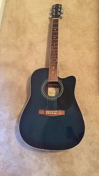 blue and black acoustic guitar Virginia Beach, 23452
