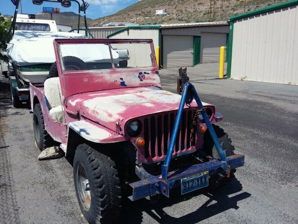 Carson City Jeep >> Used Jeep Willys 1942 For Sale In Carson City Letgo