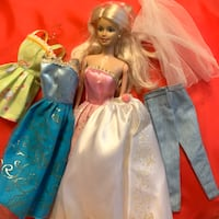 Barbie with set of clothings Hougang, 530971