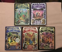 The Land of Stories by Chris Colfer Books 1-5 Annandale, 22003