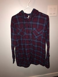 Hooded plaid shirt Regina, S4N 1B7