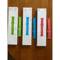 Brand new silicone Apple Watch bands 42mm Austin, 78745