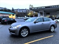 Team West Auto Group 2009 Infiniti G37X AWD Local No accident Low km clean g37 Coquitlam