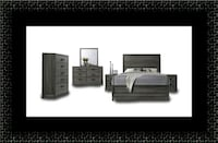11pc Kate bedroom set with mattress Hillcrest Heights