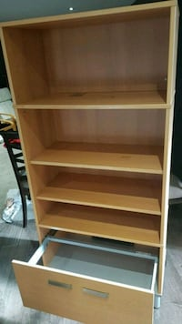 IKEA book shelf with filling cabinet Mississauga, L5J 3A9