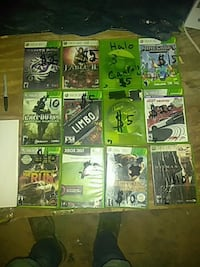 I have 12 Xbox 360 games Broseley, 63932