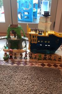 Jake and the neverland pirates toy set  Garnet Valley, 19060